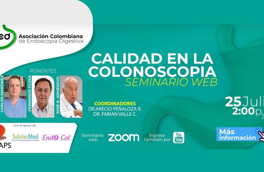 Calidad en Colonoscopia Digestiva – 25 Julio 2020